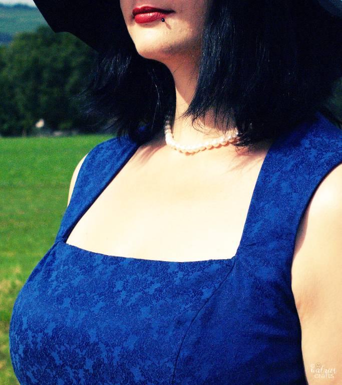 Etikleid nähen ~ tea time dress #handmade #sewing