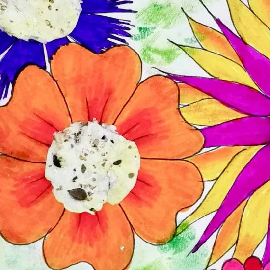 Samenpapier selbermachen #diy #handmade #flowerpaper #flower