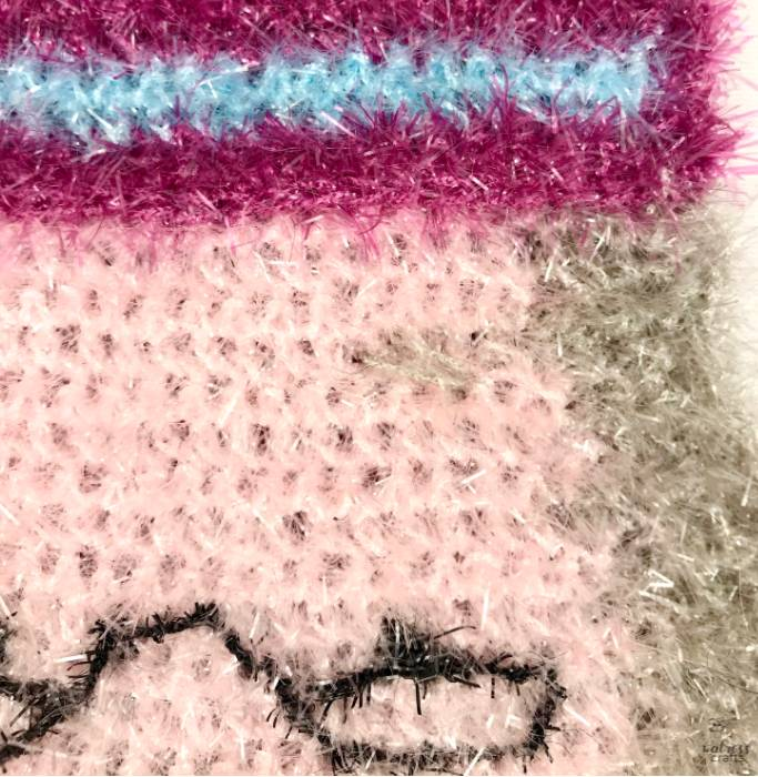 crochet sponge with special wool #crochet #crochetsponge #harrypotter