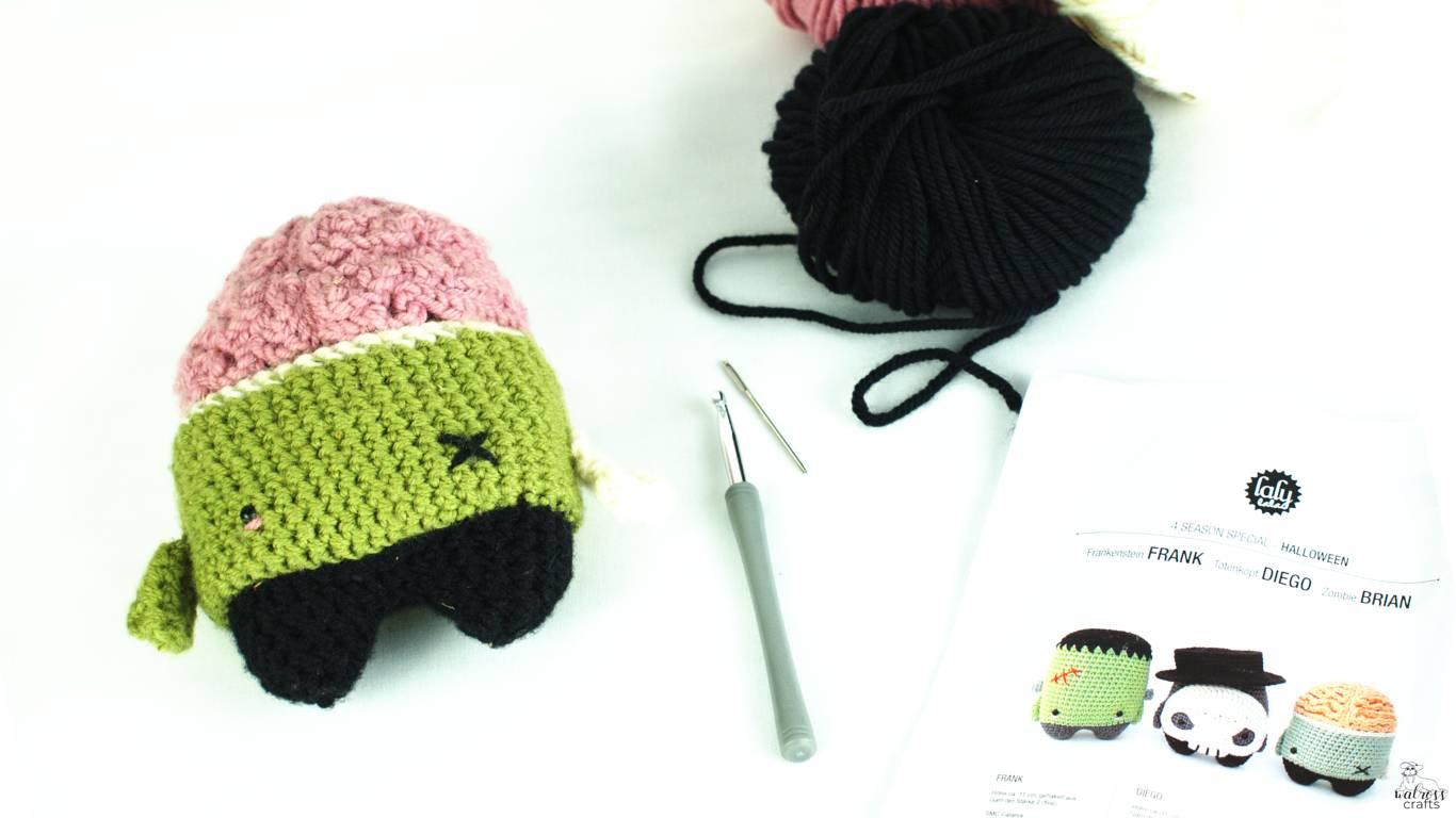 crochet zombie! #timetocrochet #crochetinspiration #handmade
