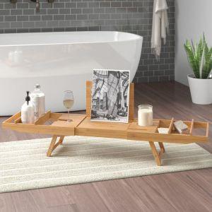 Bamboo Bath Caddy 1