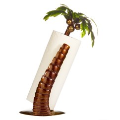 Palm Tree Kitchen Decor Hand Soap Paper Towel Holder  Accessories