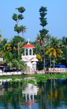 Little church on the coast