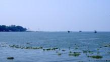 Approaching the open sea...
