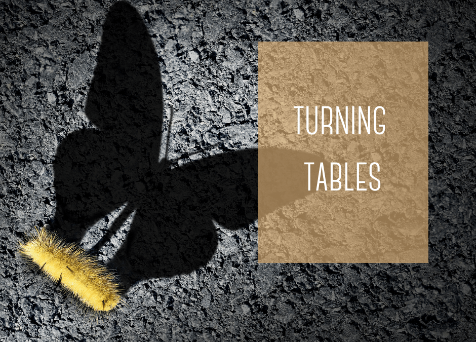 what the phrase turning tables means