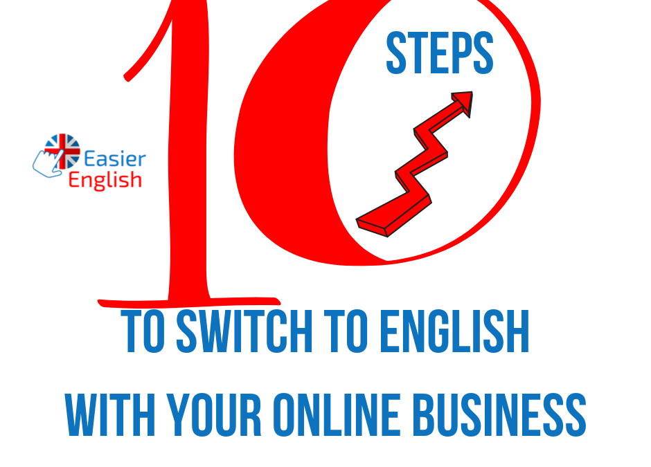 10 steps to switch to English