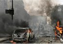 Afghan road bomb kills nine civilians