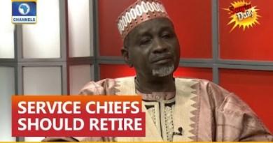 Buhari Breaking The Law By Refusing To Change Service Chiefs – Senator Shekarau