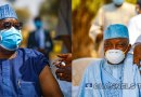 Buhari's Chief Of Staff, Garba Shehu, Others Take COVID-19 Vaccination