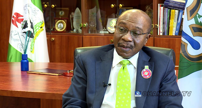 CBN To Demand Payback Of Budget Support Loans From States, Says Emefiele