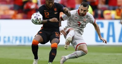 Euro 2020: Netherlands thrash North Macedonia 3-0