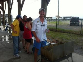 SWC Vince Jr frying fish