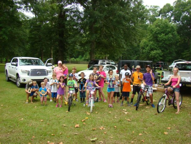 Kids Fishing Rodeo and Bike Winners