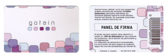 Tarjetas Plásticas de PVC