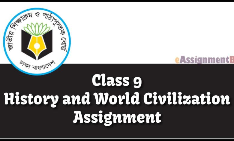 Class 9 History and World Civilization Assignment