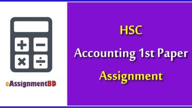 HSC Accounting Assignment