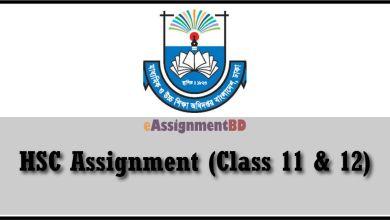 HSC Assignment