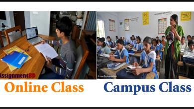 online class campus class