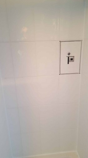 Shower Cubicle After Cleaning in Sale