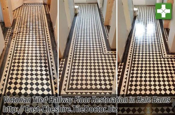Victorian Floor Before After Restoration Hale Barns