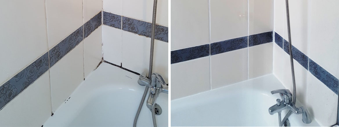 Ceramic Bath Tiles Before After Refresh Hale Village
