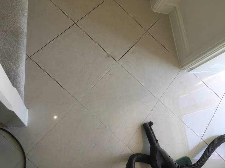 Ceramic Floor Tile Grout During Cleaning Wilmslow