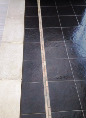 Porcelain Pool Surround Oxshott After Cleaning