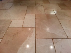 Limestone Tile After
