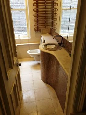 Brighton Luxury Flat Limestone Bathroom Before Cleaning