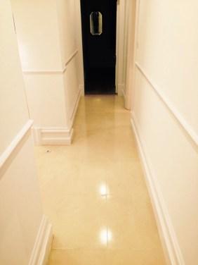 Brighton Luxury Flat Limestone Floor After Cleaning