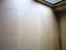 Restoring Grout Colour on a Limestone Floor   Stone ...