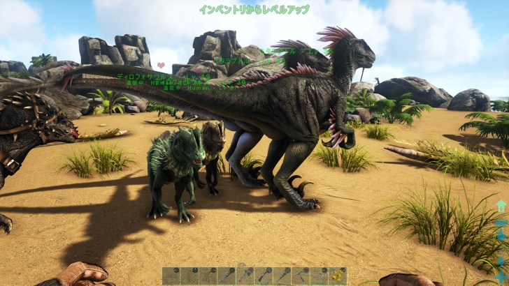Ark 採取 恐竜