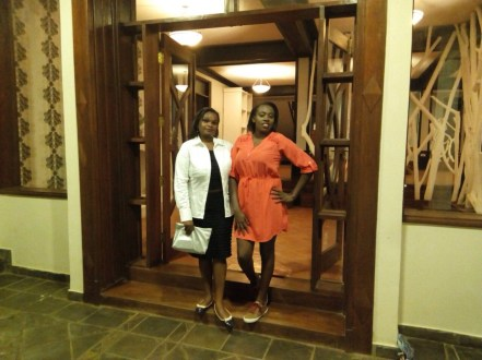 Stepping out for diner with Vonney Marony Travels
