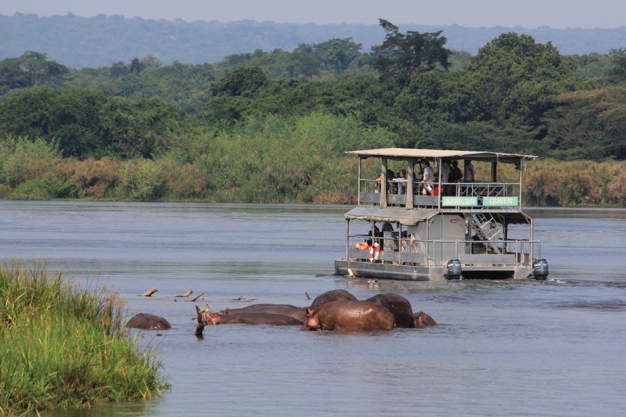 Murchison Falls boat ride - Uganda Rwanda Safari Adventure