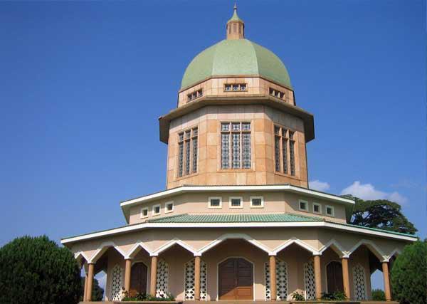 The Baha'i temple
