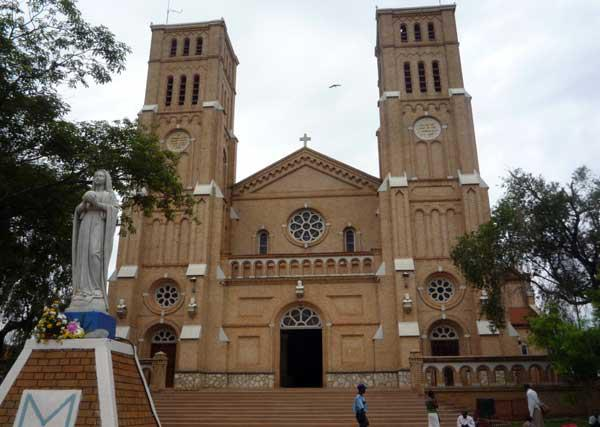 Rubaga cathedral: The magnificent St. Mary's Cathedral which stands on a hill overlooking the City.