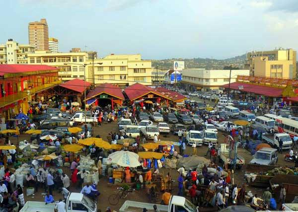 The markets of Kampala: Visitors cannot afford to miss visiting the Nakasero fruit and vegetable market or the Owino market in Nakasero Place.