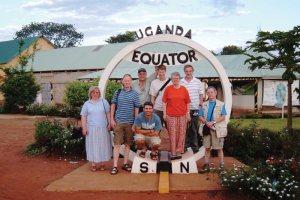 Equator in Uganda