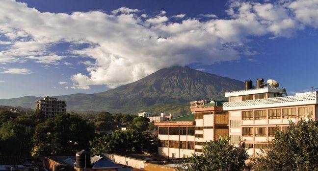 Mount Meru View Arusha Tanzania