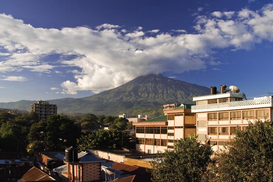 Mount Meru View Arisha Tanzania