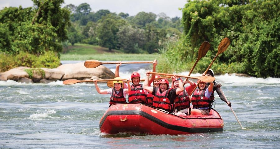 Nile Uganda Safari - Whitewater Rafting