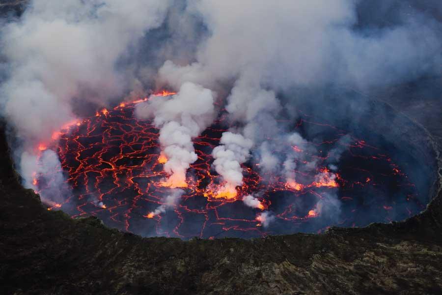 Nyiragongo Volcano Hiking - Nyiragongo Lava Lake