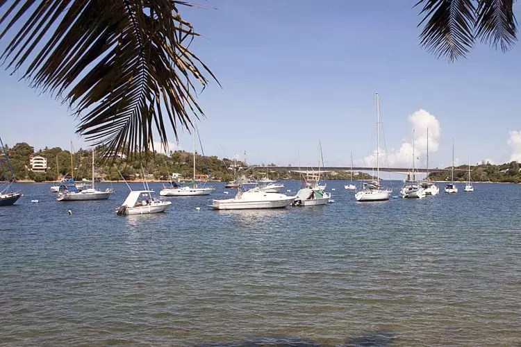 Kilifi Harbour and Bridge