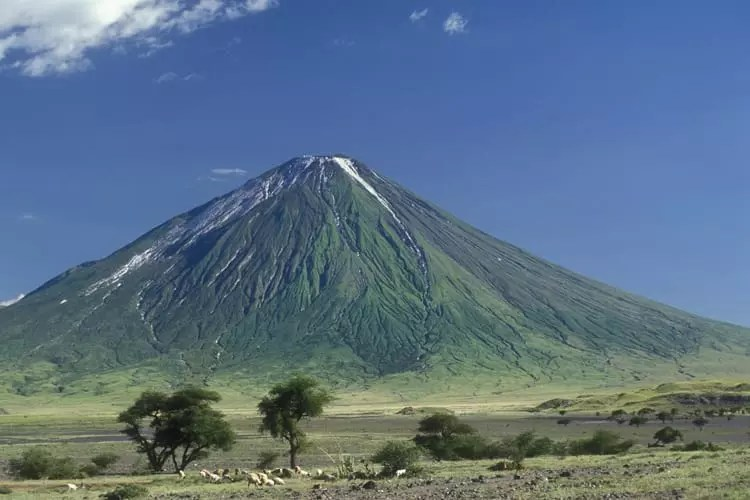 Ol Doinyo Lengai, Holy mountain of the Masai