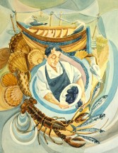 Rosemary & Co Brushes award - Mussel man by Gilly Marklew