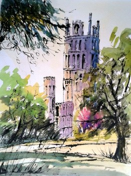 Glow by Ely Cathedral by Penny Newman