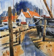 Posts and Jetty by Caroline Furlong
