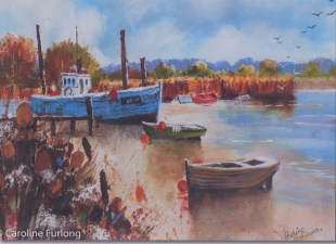 Watercolour by Caroline Furlong