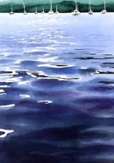 Slack water by Tony Hatt