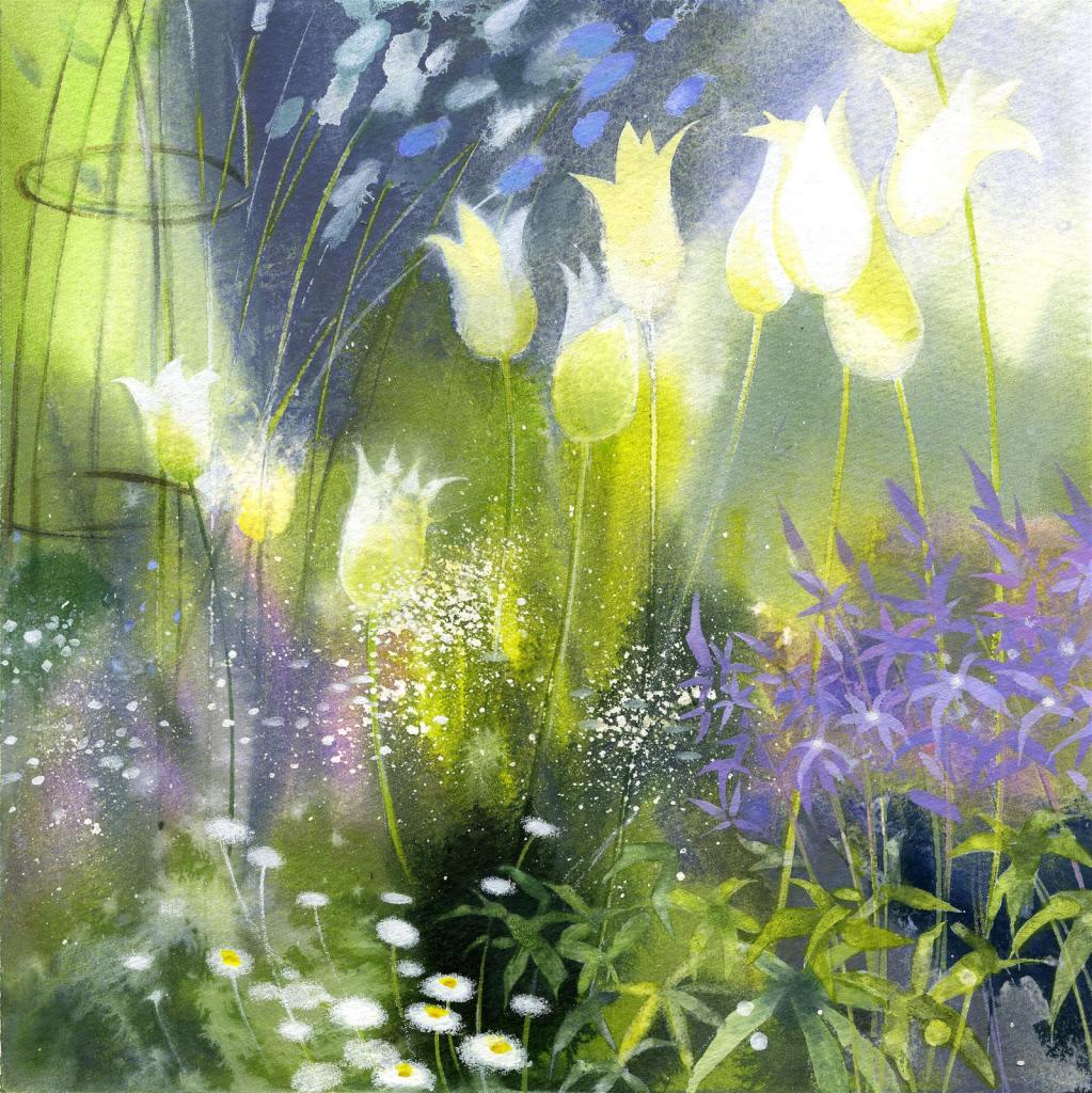 The Artist & Illustrators Award: The Garden by Petula Stone